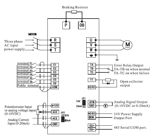 vfd wiring diagram Collection-Vfd Wiring Diagram Inspirational Single Phase Variable Frequency Drive 220v for Single Phase Motor 19-o
