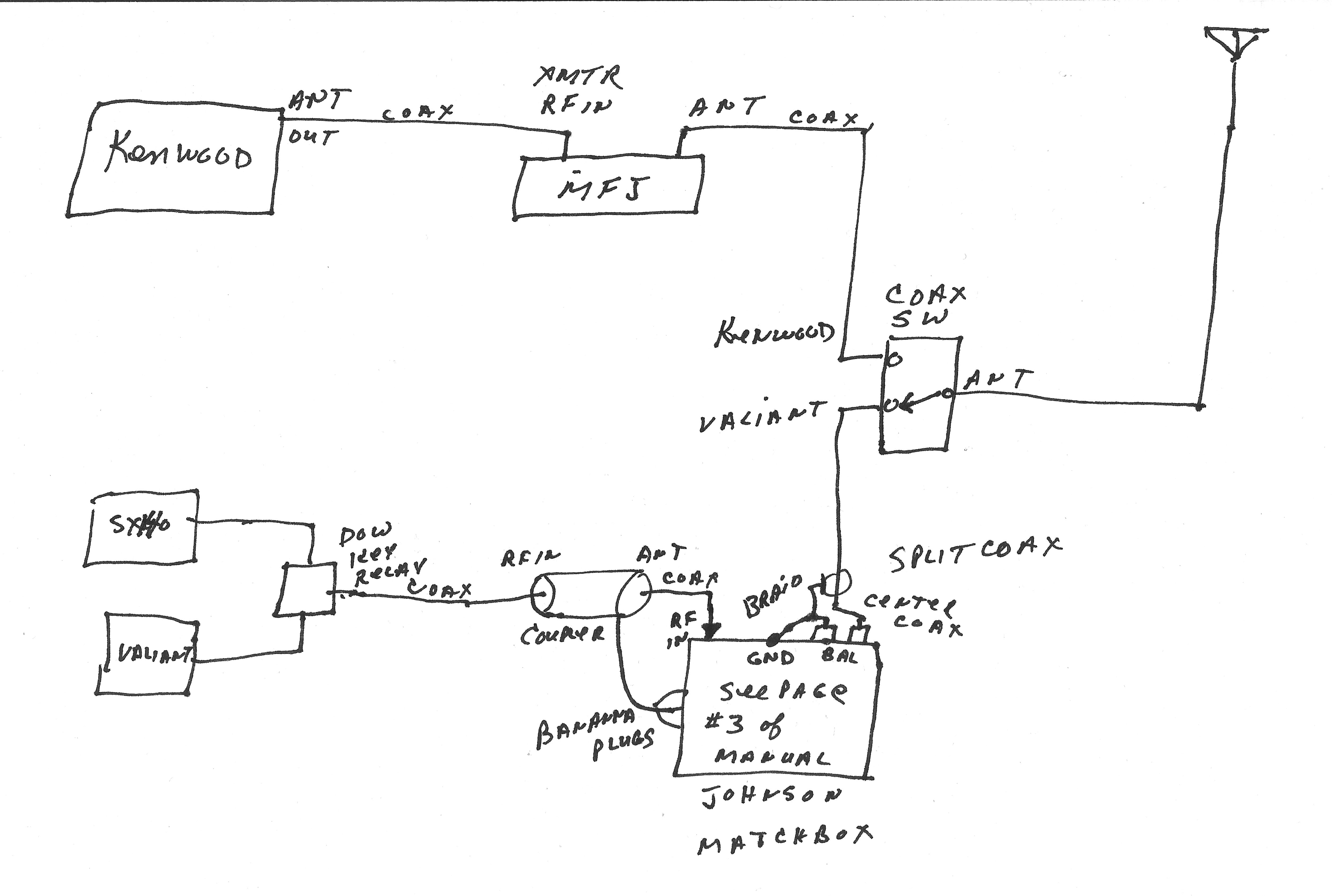 viking range wiring diagram Collection-Hook up Schematic for N2AWA shack 20-g
