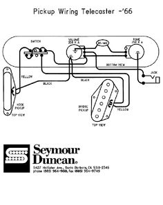 vintage telecaster wiring diagram Download-66 telecaster Wiring Diagram seymour duncan 12-l