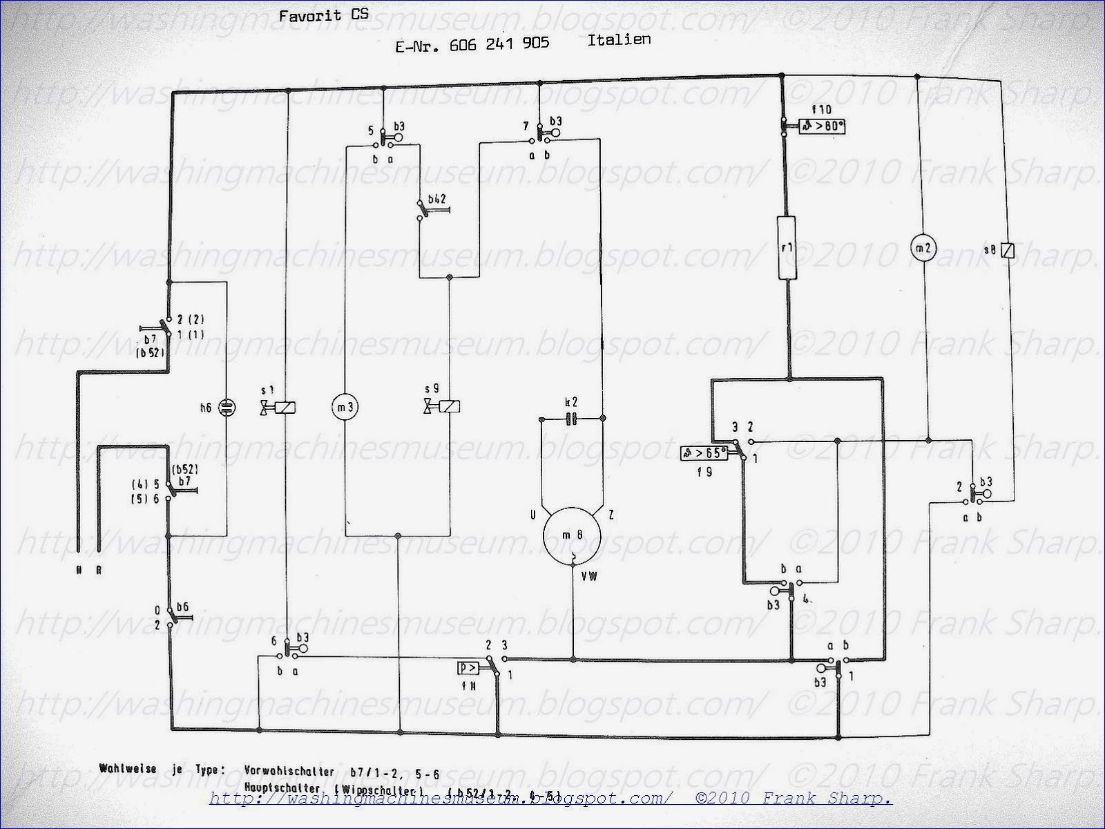 washing machine wiring diagram and schematics Download-AEG FAVORIT CS ITALIEN SCHEMATIC DIAGRAM 20-l