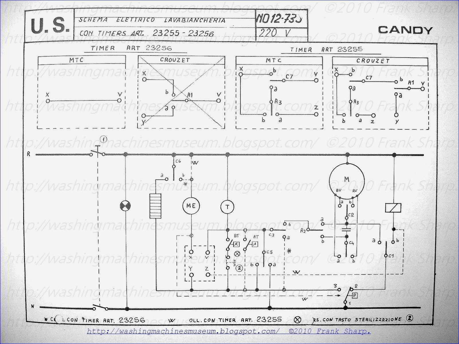 washing machine wiring diagram and schematics Download-CANDY WASHING MACHINE WITH TIMER SCHEMATIC DIAGRAM 13-b