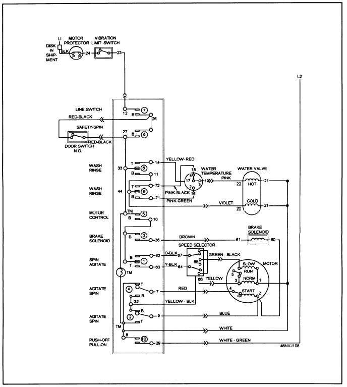 washing machine wiring diagram and schematics Download-Washing Machine Wiring Diagram 5-g
