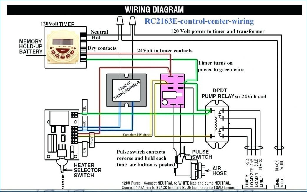 water heater timer wiring diagram Collection-Central Heating Thermostat Wiring Diagram Car Immersion Heater For 2-a