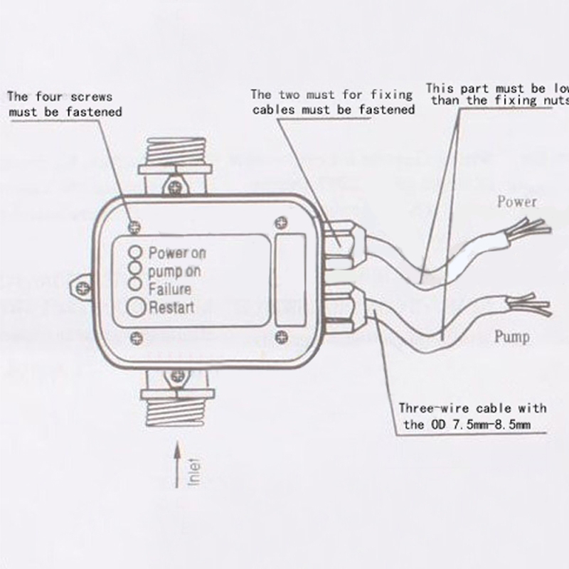 water pump pressure switch wiring diagram Collection-Electric Water Switch Awesome 55 Fresh Electric Water Pressure Regulator 44 Unique Electric Water Switch 2-t