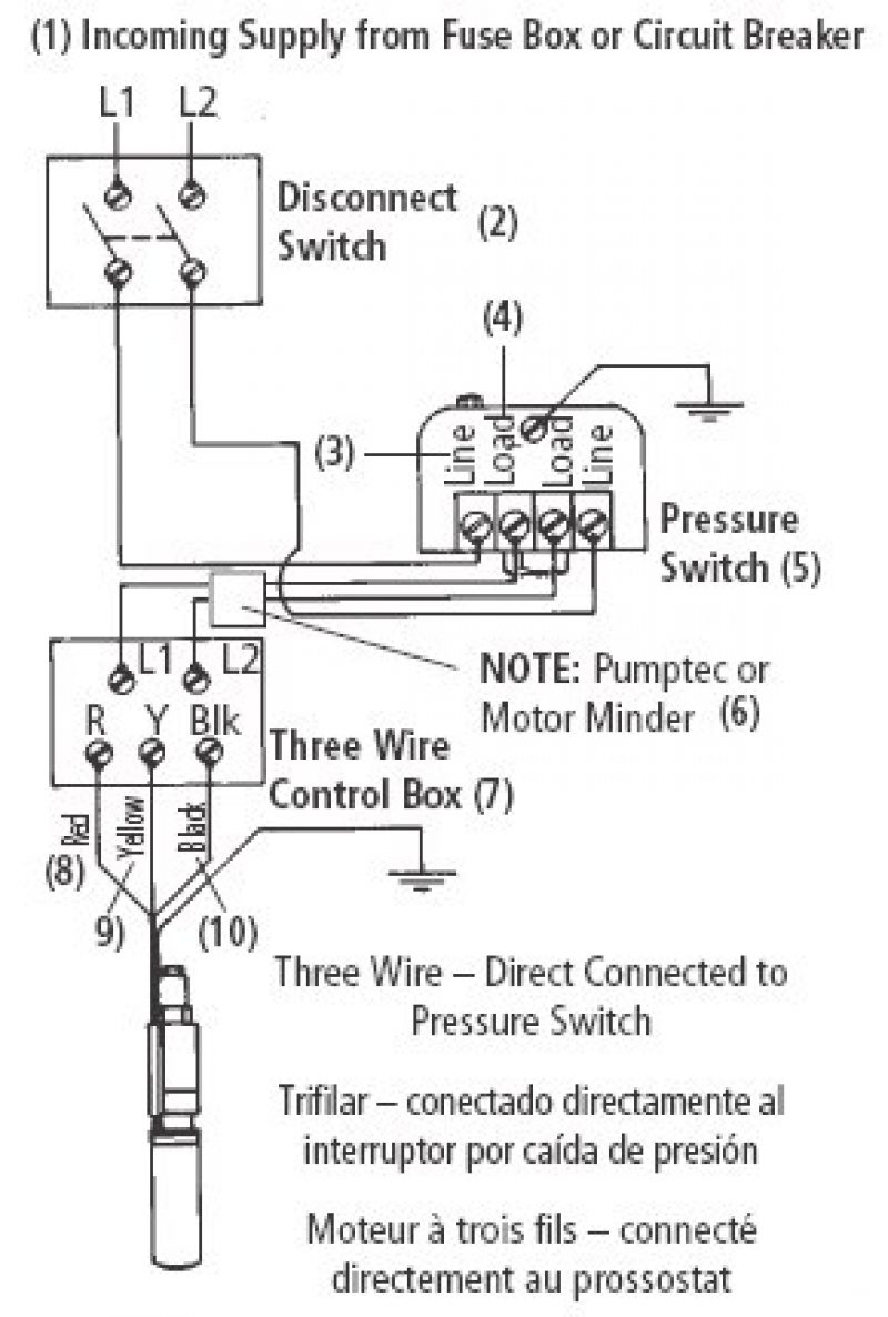 water pump pressure switch wiring diagram Download-water pump pressure switch wiring diagram New Deep Well Pump Wiring Diagram 220v Motor Shallow Myers 1-b