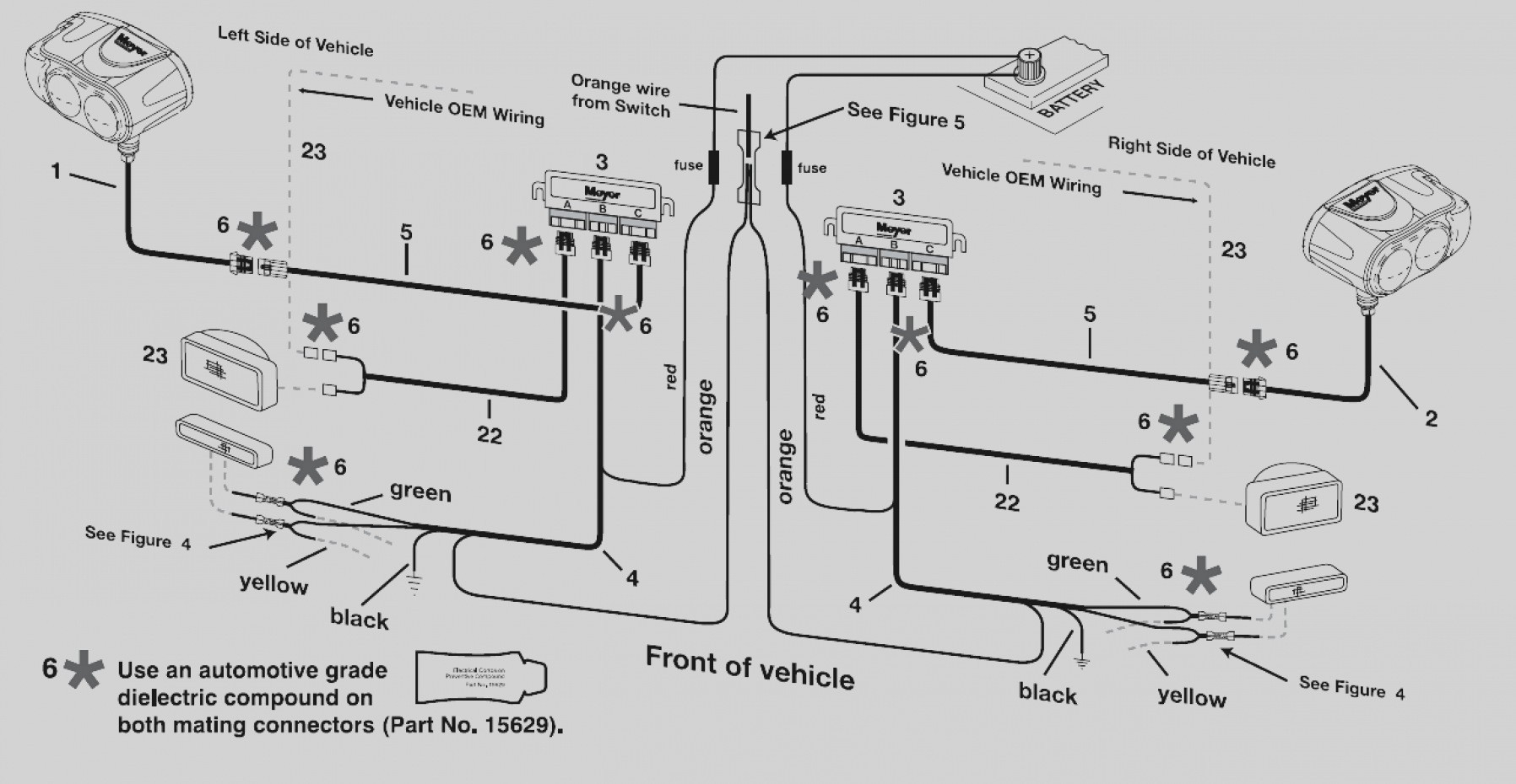 western snow plows wiring diagram headlights Download-Latest Western Plows Wiring Diagram Blizzard Snow Plow Diagrams Throughout 12-g