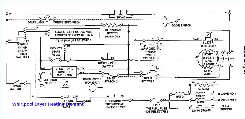 whirlpool electric dryer wiring diagram Collection-Kenmore Elite Dryer Wiring Diagram Whirlpool Dryer Heating Element Troubleshooting Samsung Dryer Error Codes Whirlpool 13-g