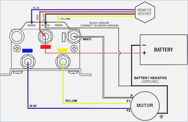 Winch Wireless Remote Control Wiring Diagram Sample