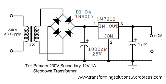 wiring diagram for a power pack pp 20 Collection-A simple 12 volt DC power supply circuit diagram 10-m