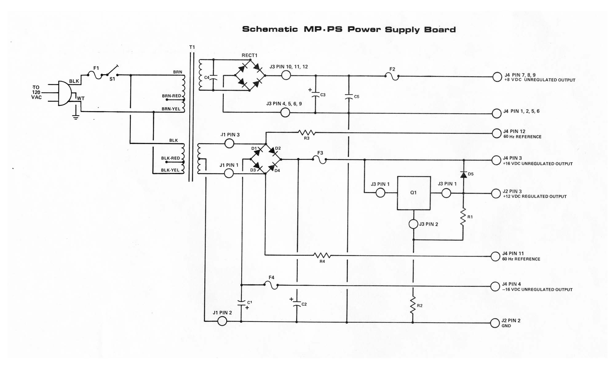 wiring diagram for a power pack pp 20 Download-MP P2 Power Supply Schematic 102k JPG 4-a