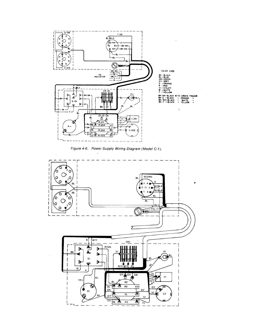 wiring diagram for a power pack pp 20 Download-Power Supply Wiring Diagram Model M 1 13-n