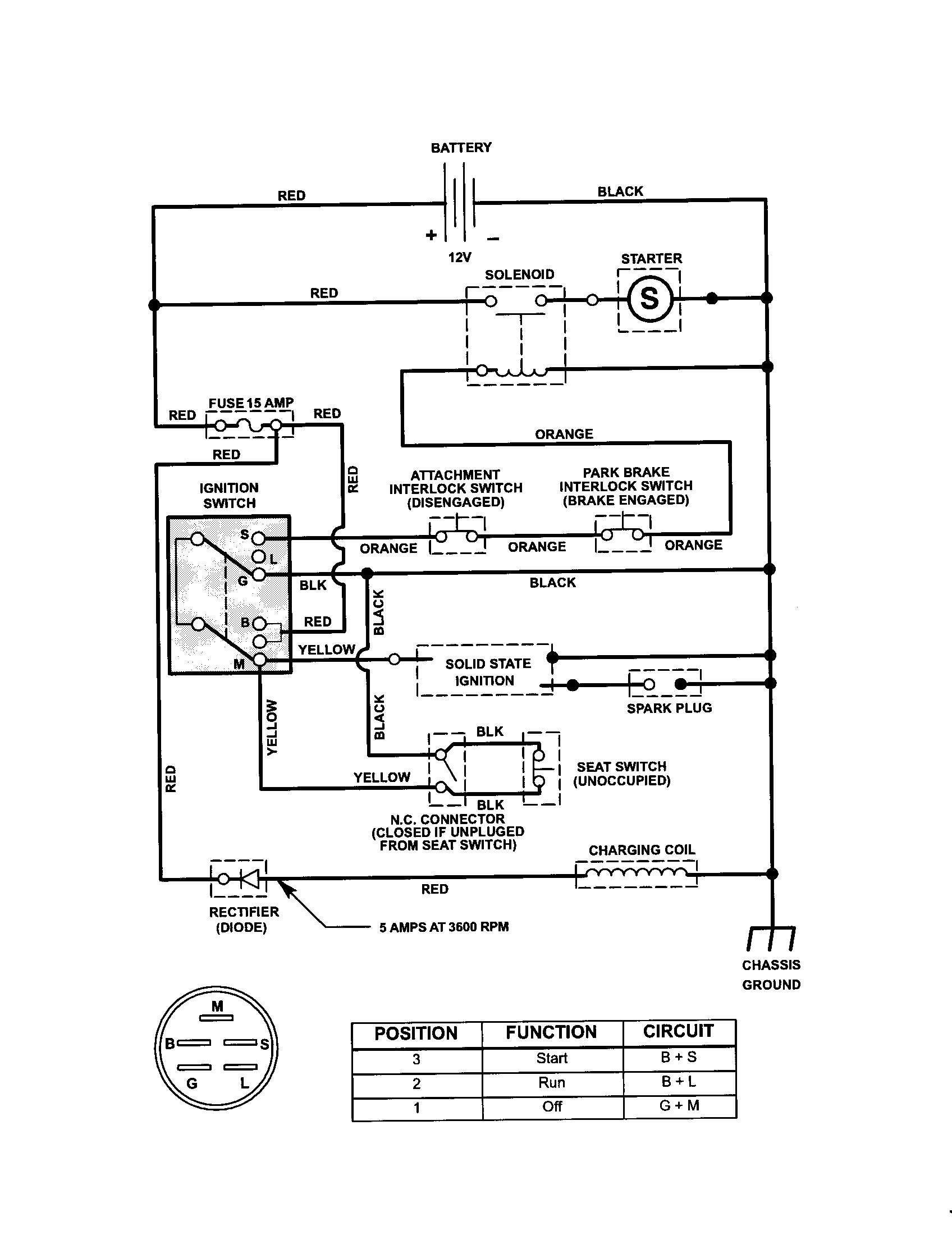 wiring diagram for craftsman riding lawn mower Collection-Craftsman Riding Mower Electrical Diagram 3-g