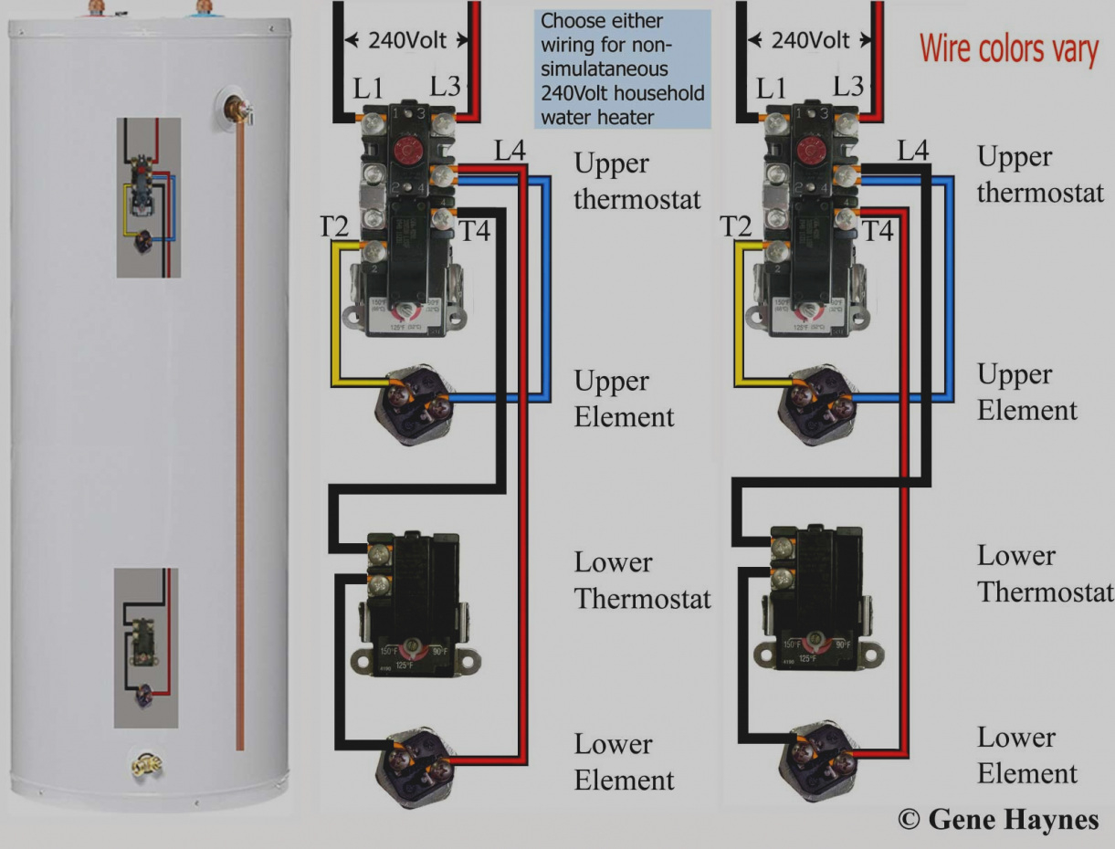 Wiring Diagram For Hot Water Heater Thermostat Sample Furnace Download 25 Trend Electric