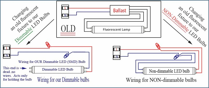 wiring diagram for led tube lights Download-Fluorescent Ballast Wiring Diagram & Electronic Ballast Wiring 7-j