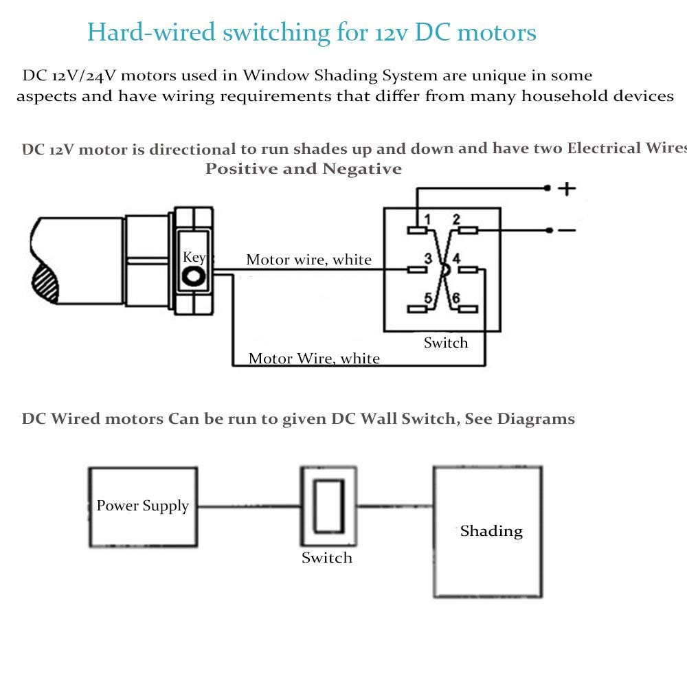 wiring diagram for motorized blinds Download-Amazon Rollerhouse DIY Motorized Electronic Roller Shades for Mini Blinds Window with 16mm Tubular Motor 12V Home & Kitchen 14-l