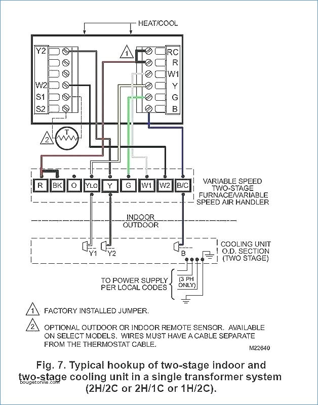 wiring diagram for outdoor thermostat Download-Wiring Diagram for Air Handler Wiring Page Goodman Heat Pump Air 19-m
