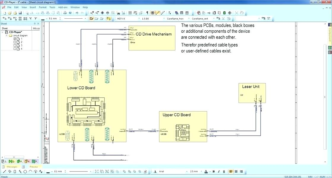 wiring diagram software online Collection-35 Awesome Pcb Diagram software 17-h