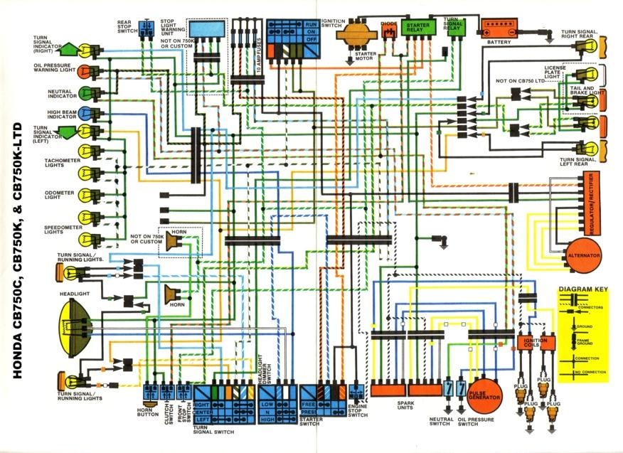 Electrical Wiring Suzuki Motorcycle Wiring Diagram from cycles.evanfell.com