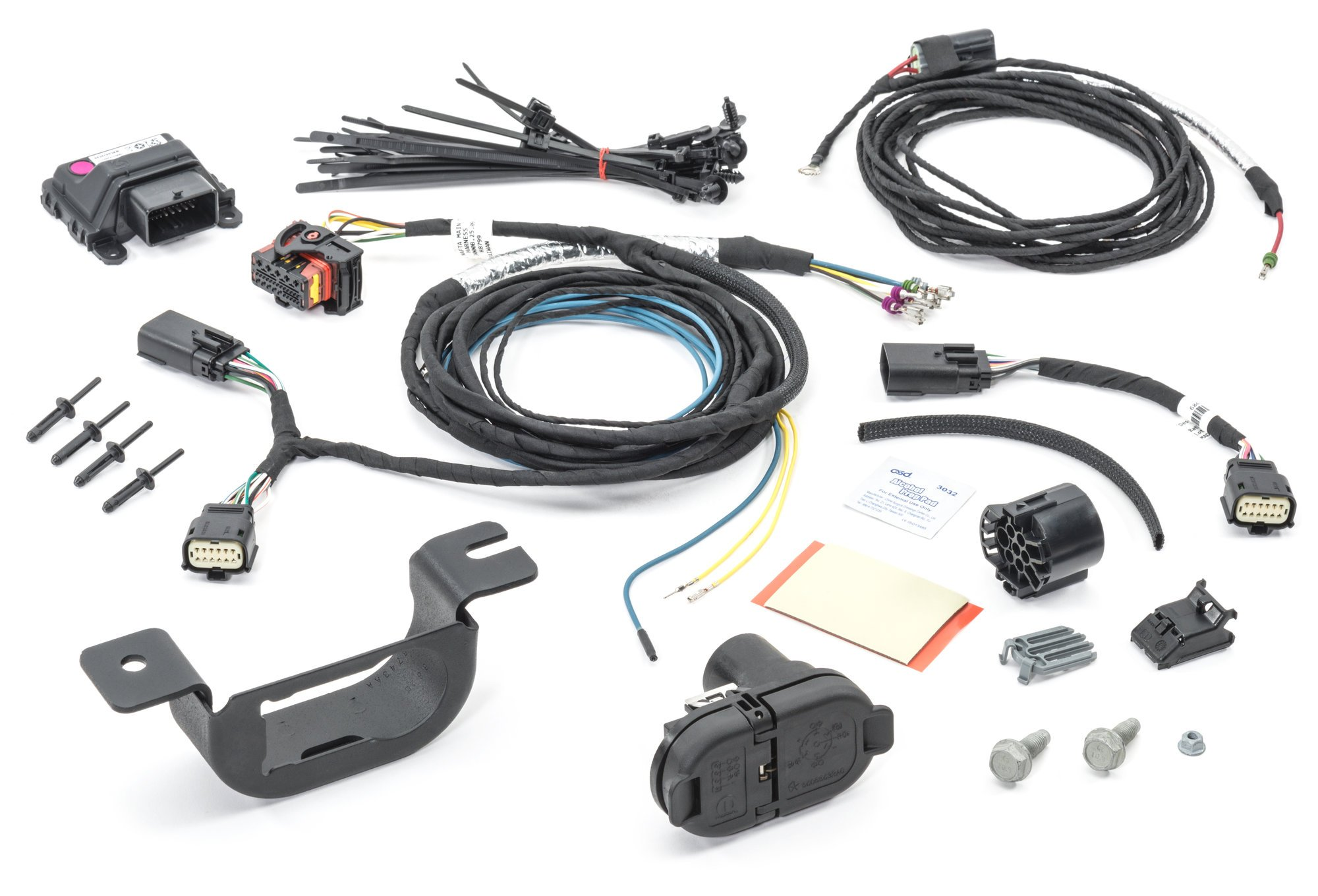 Jeep Towing Wiring Harness from www.quadratec.com