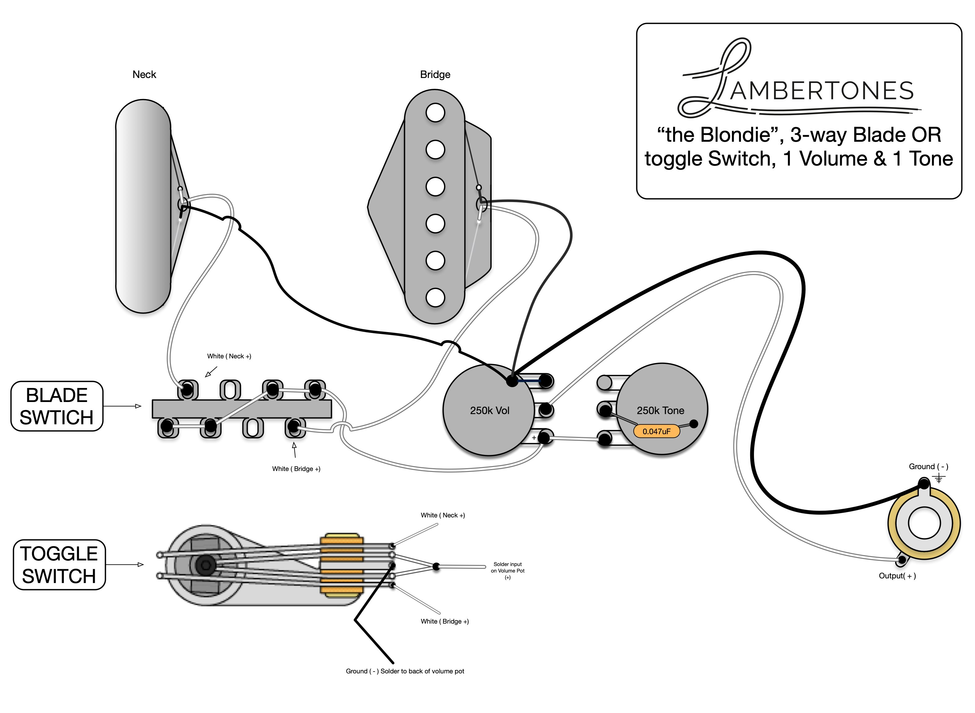Telecaster Series Wiring Using A 3 Way Switch Diagram from cdn.shopify.com