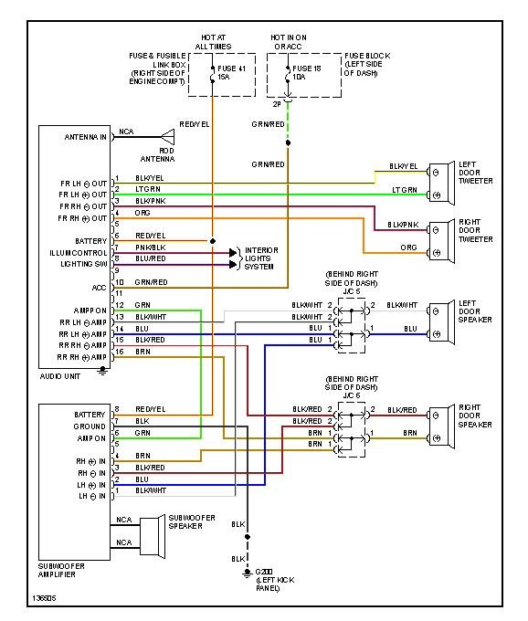 Nissan Xterra Stereo Wiring Diagram from ww2.justanswer.com
