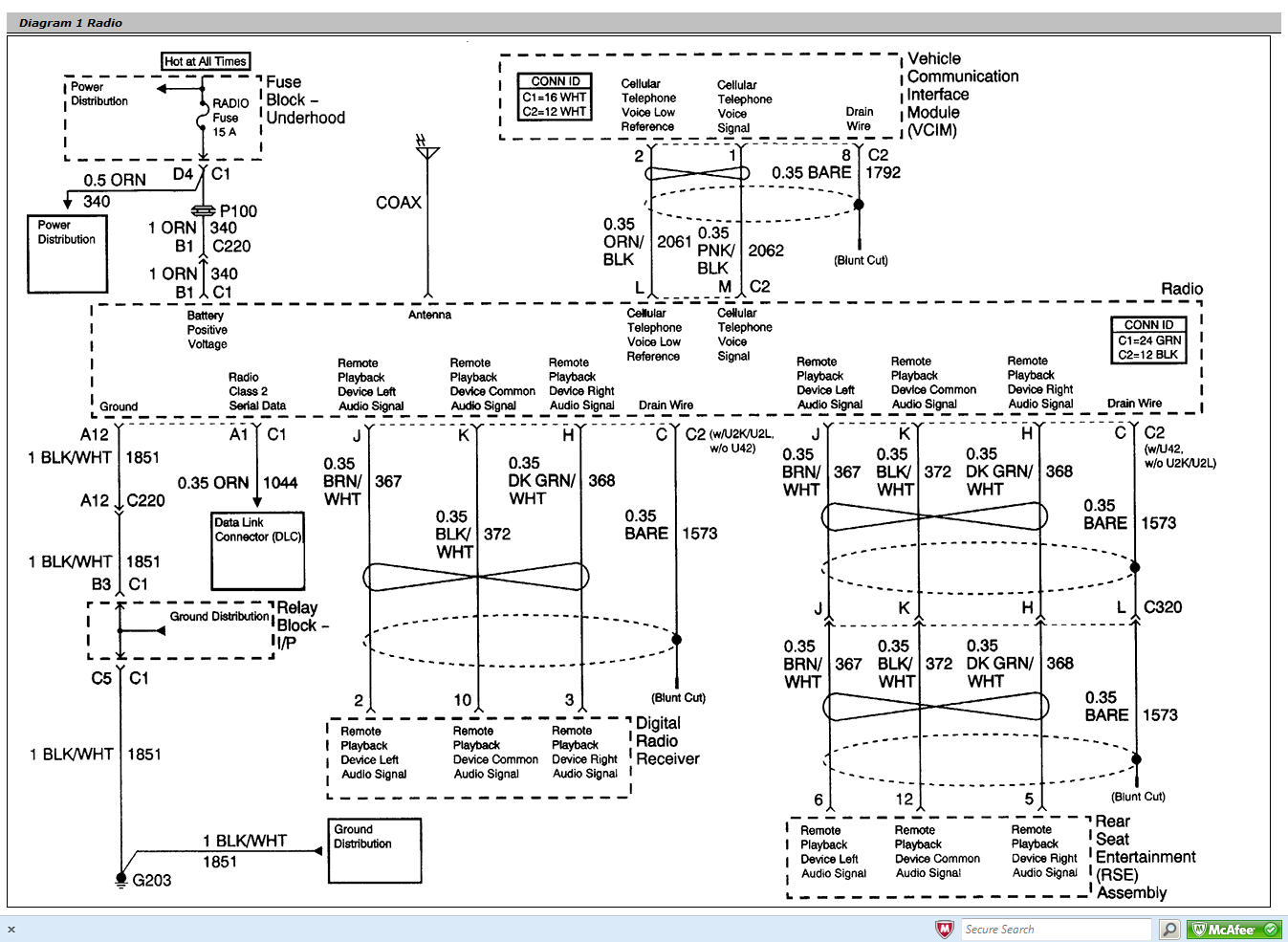 Gmc Canyon Stereo Wiring Diagram from ww2.justanswer.com