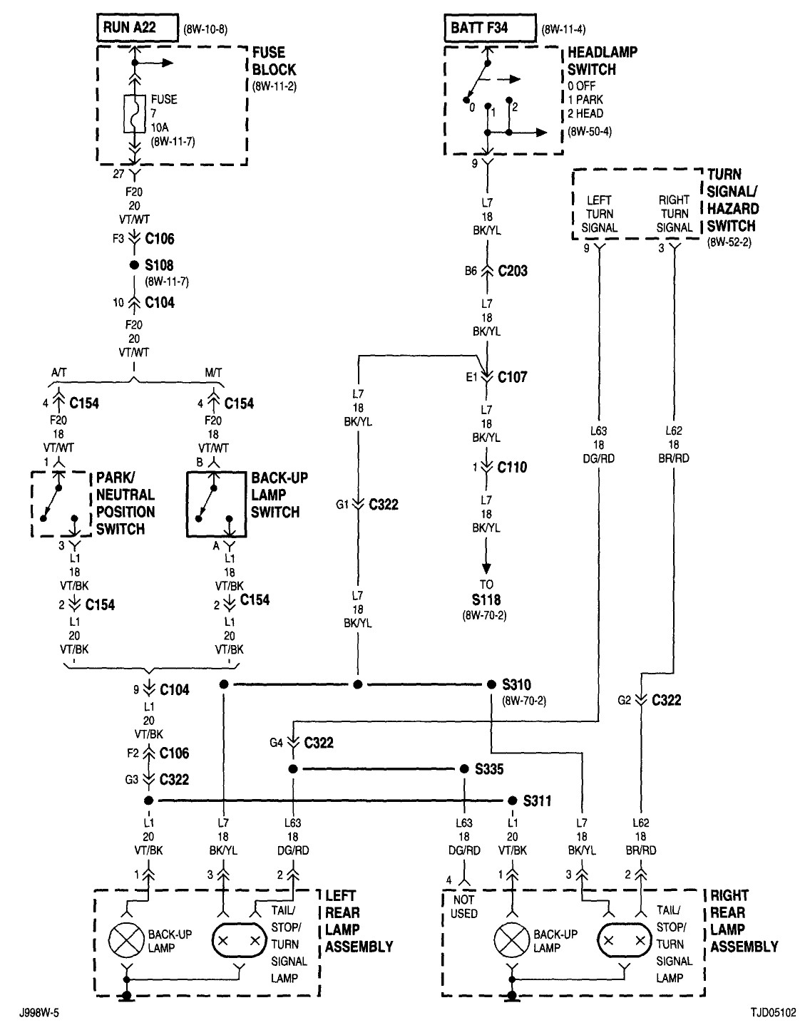 89 Jeep Wrangler Wiring Diagram from mainetreasurechest.com