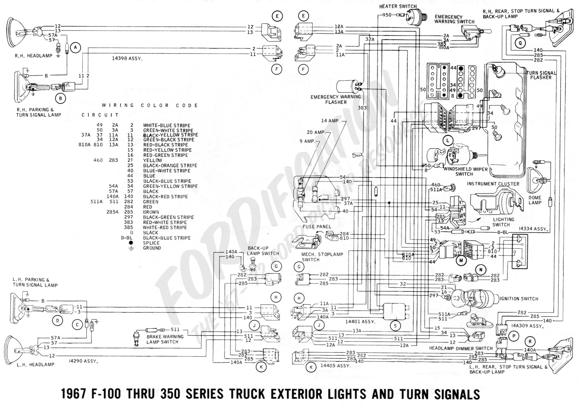 1988 Ford F250 Radio Wiring Diagram from www.fordification.com