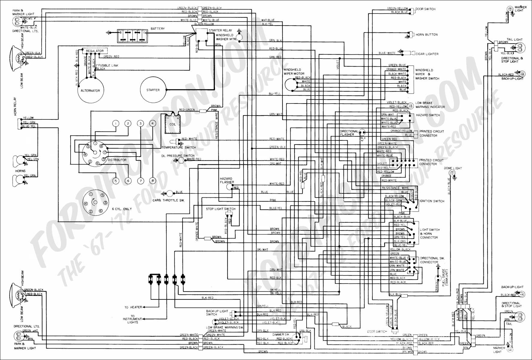 1990 Ford F150 Ignition Switch Wiring Diagram from www.fordification.com