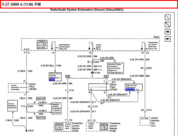 2001 Chevy S10 Radio Wiring Diagram from www.justanswer.com
