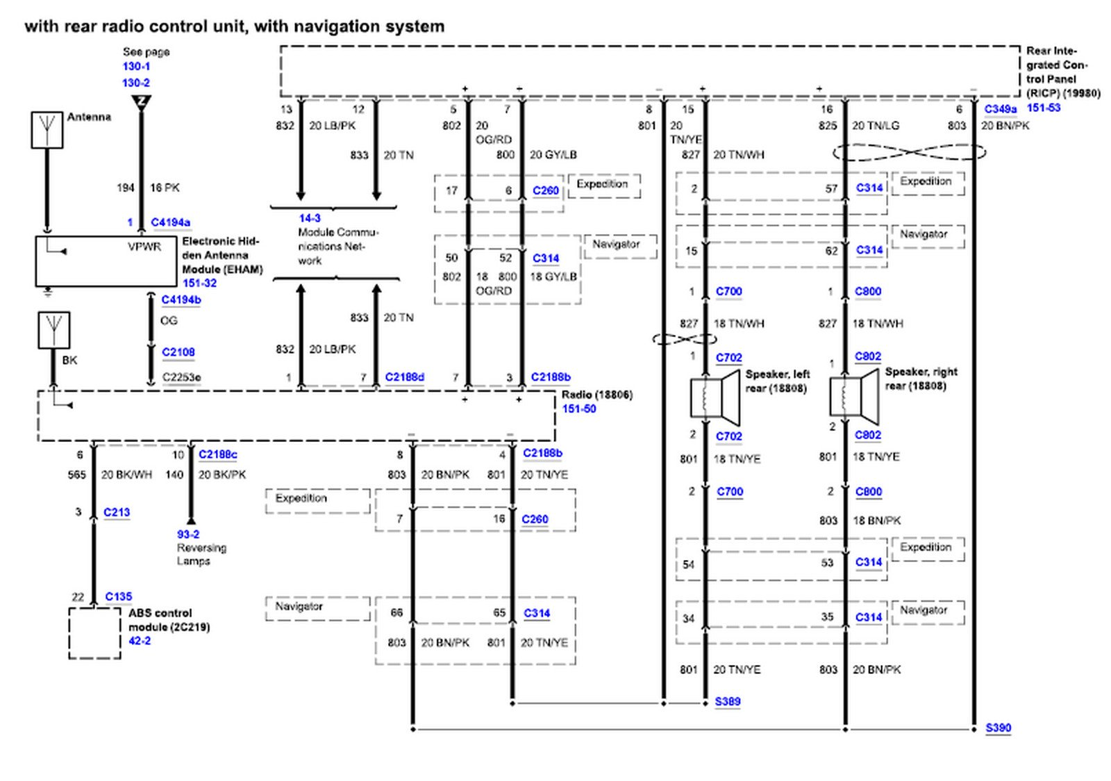 1997 Ford Expedition Radio Wiring Diagram from ww2.justanswer.com