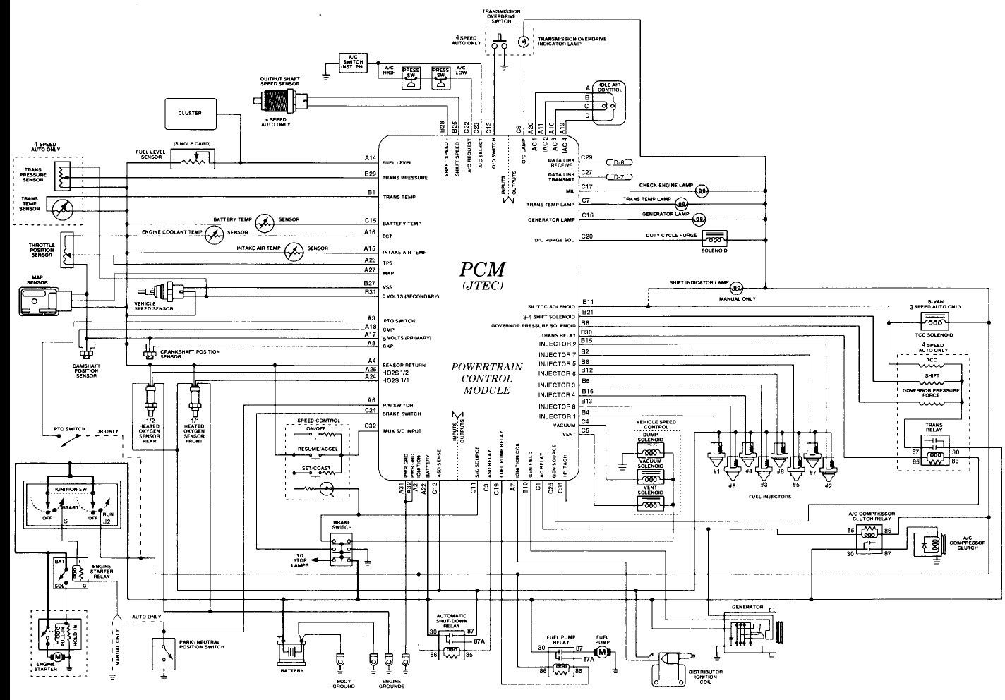 Free Wiring Diagrams For Dodge from i.pinimg.com