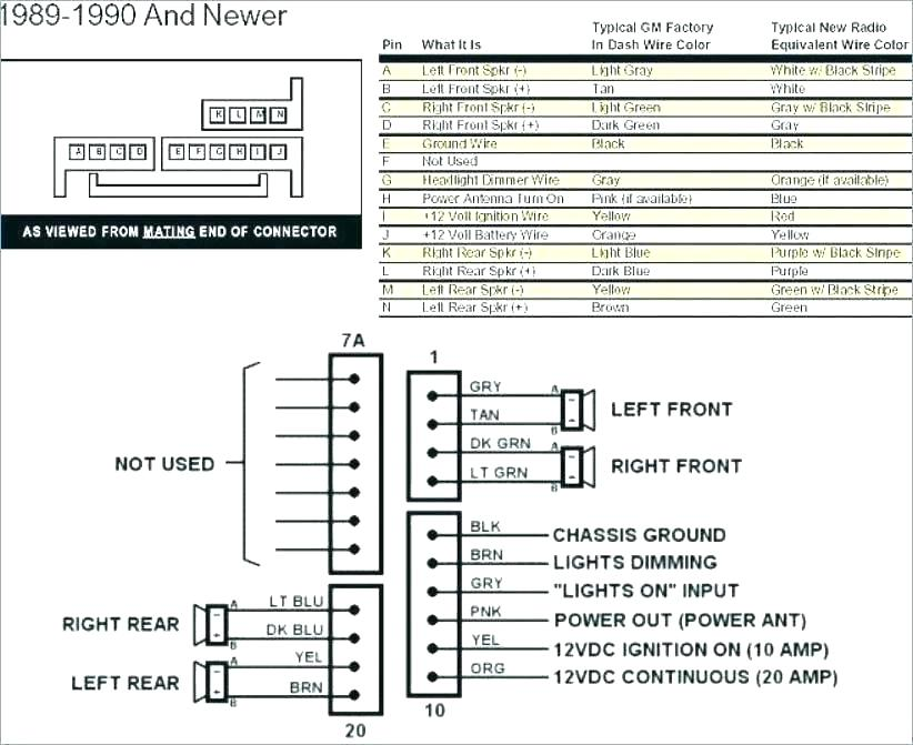 Chevy S10 Radio Wiring Diagram  U2013 Collection