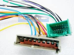Car Radio Stereo Wire Wiring Harness For Lincoln F3Msle Cable Adapter from images-na.ssl-images-amazon.com