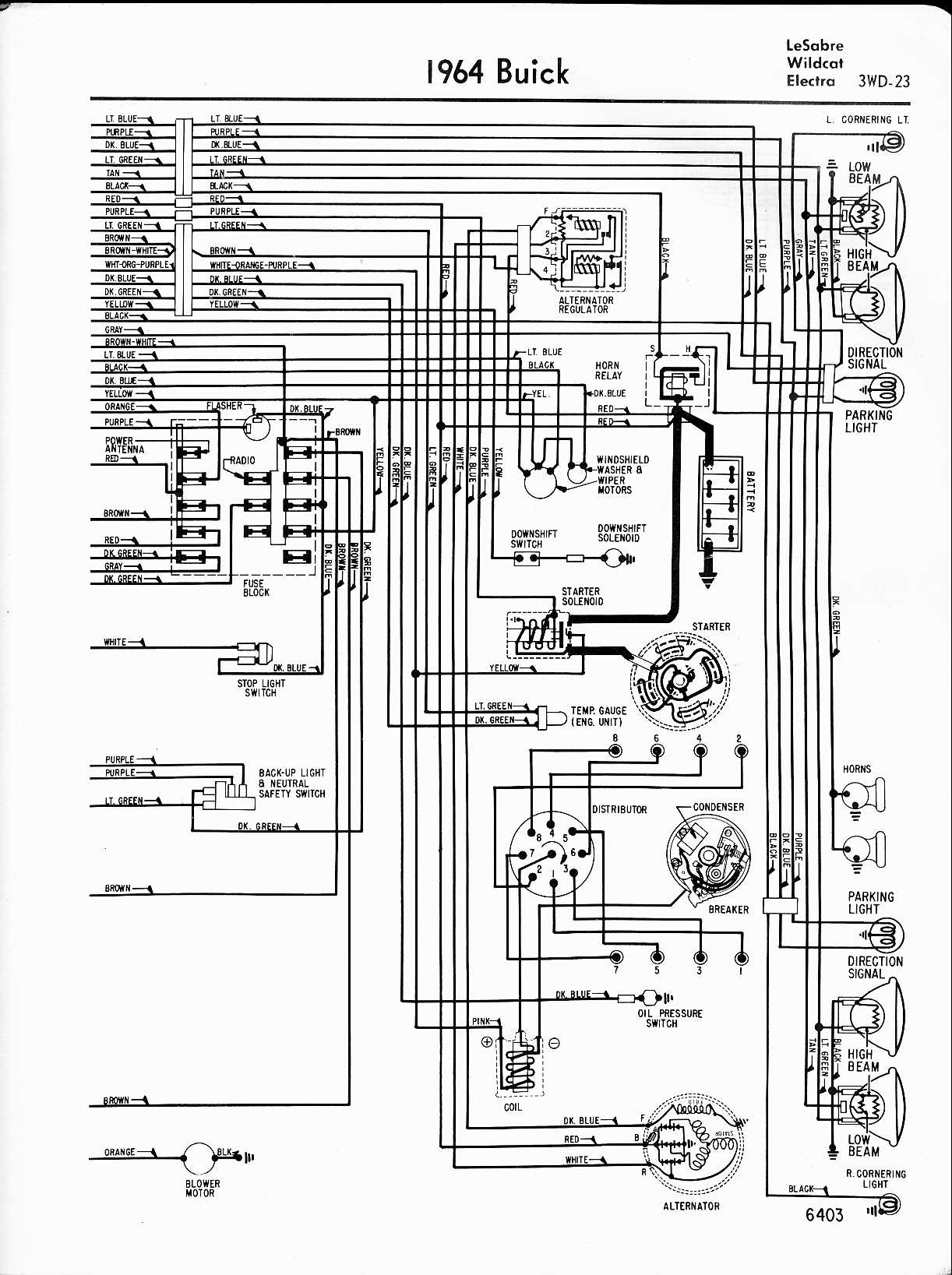 1963 Buick Lesabre Turn Wiring Diagram from www.oldcarmanualproject.com