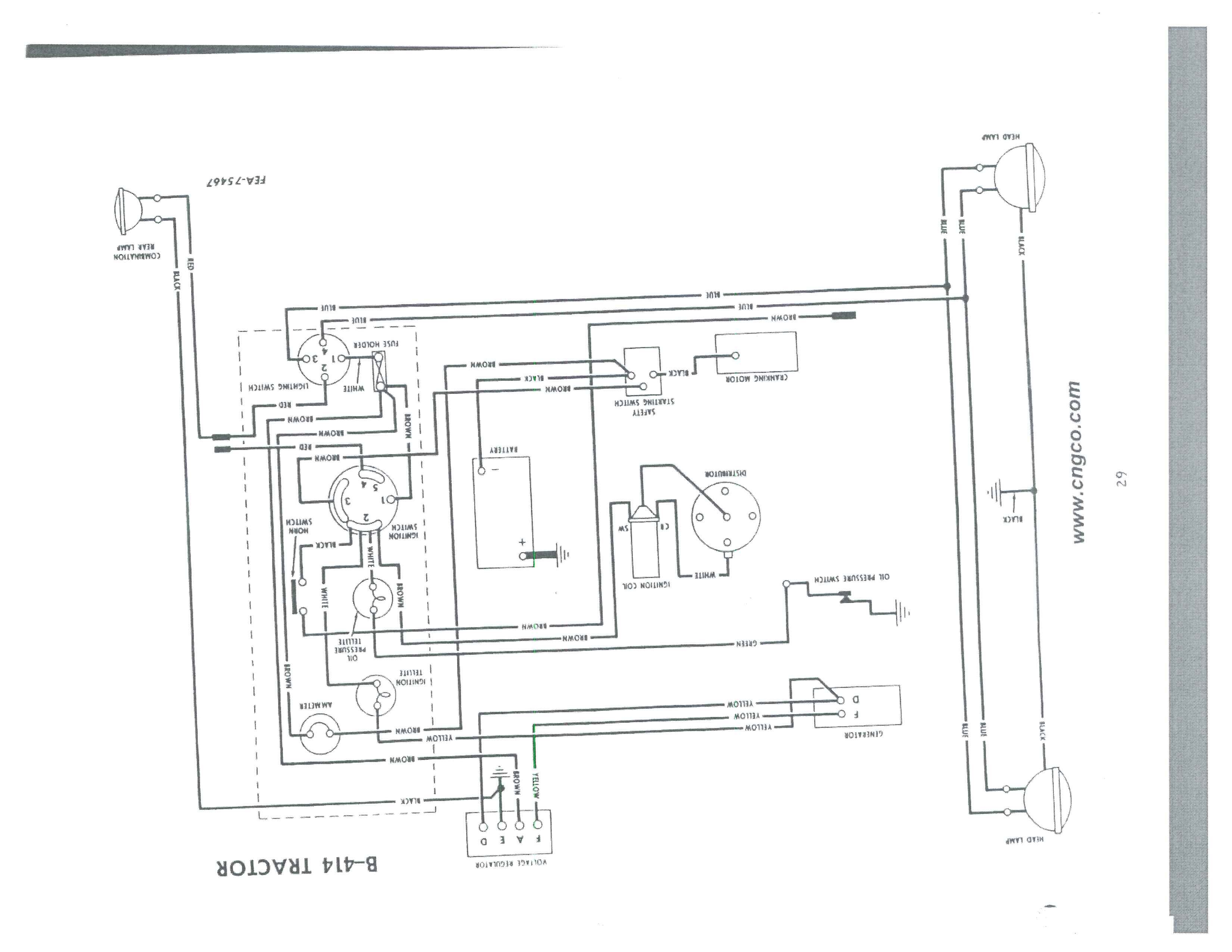 1963 Ford 2000 Tractor Wiring Diagram Images