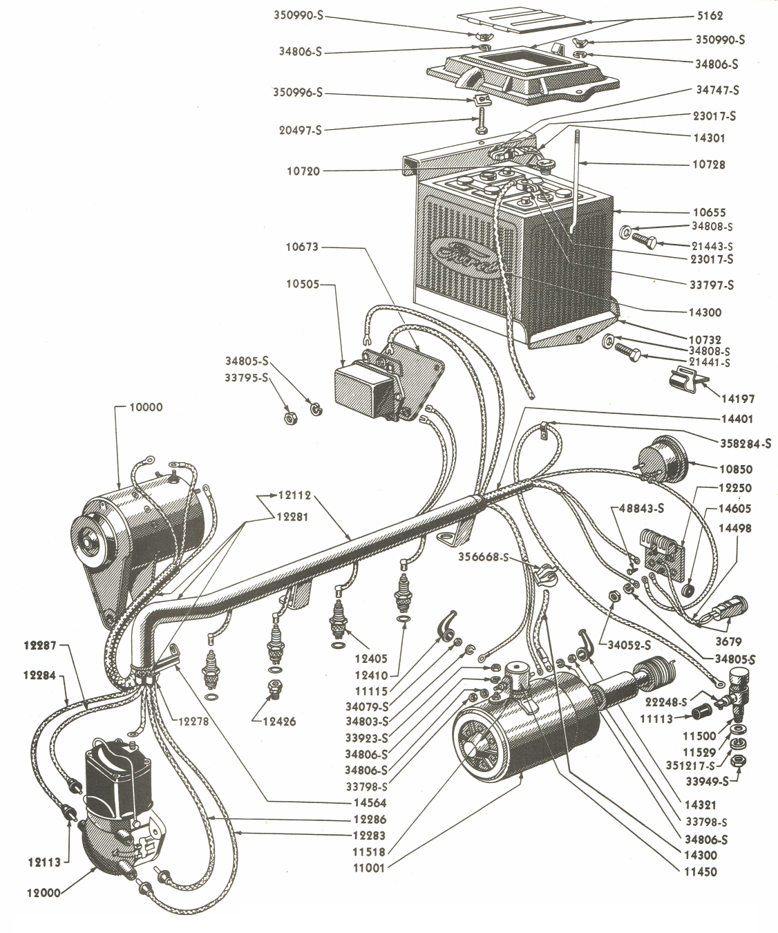 1953 Ford Jubilee Tractor Wiring Diagram from www.fixthatford.com