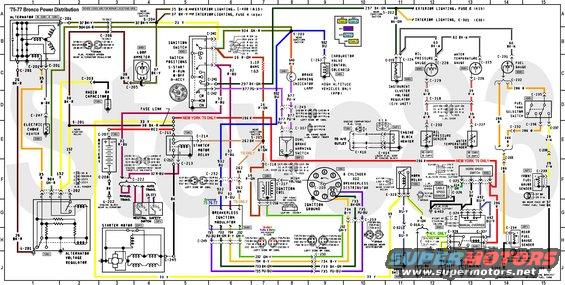 1976 Ford F150 Wiring Diagram from www.supermotors.net