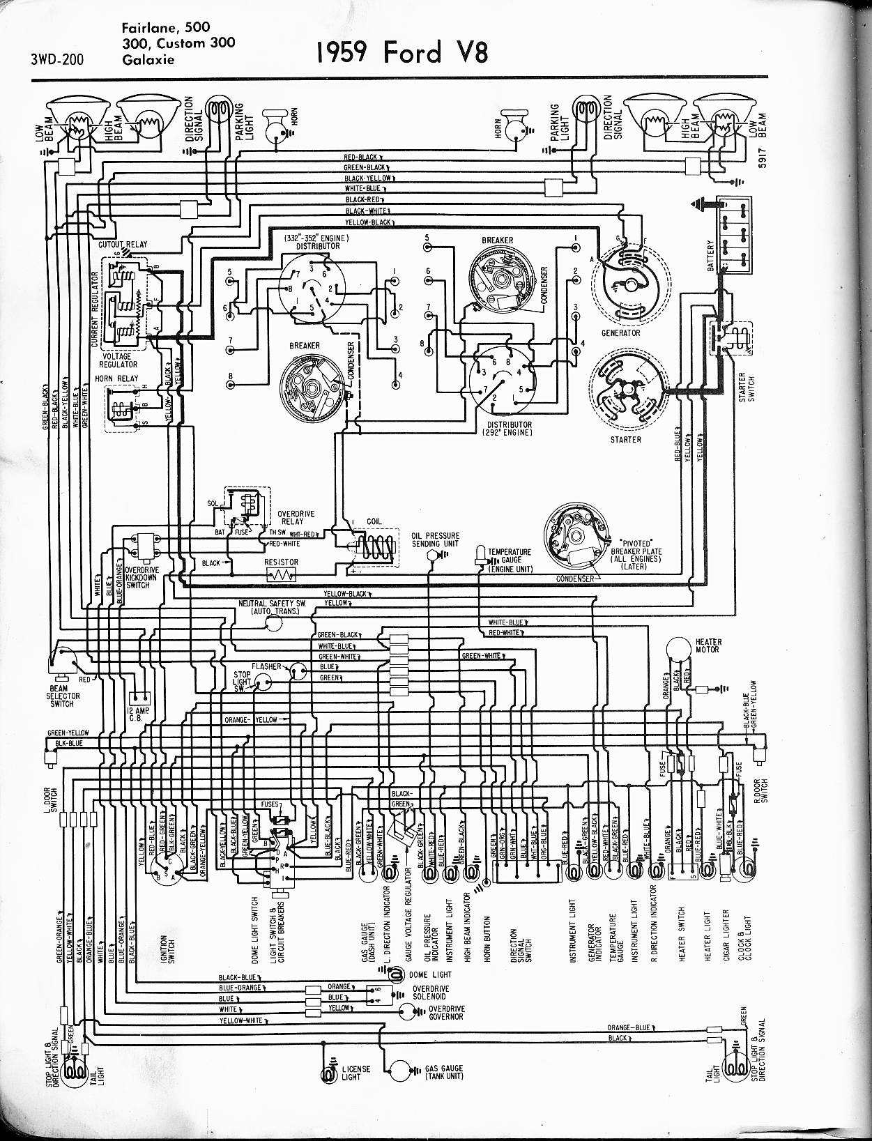 Wiring Diagram For Generator To Alternator Conversion1956 Ford from www.oldcarmanualproject.com