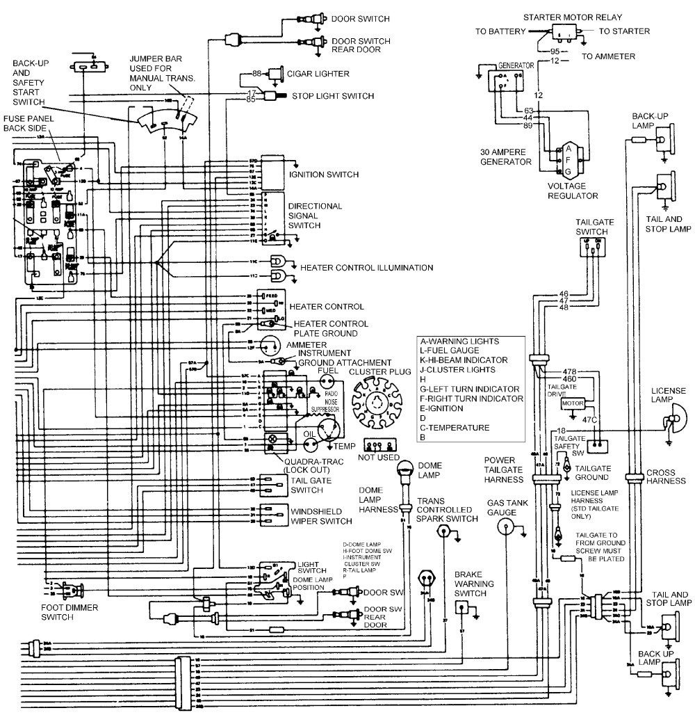 2004 Jeep Grand Cherokee Tail Light Wiring Diagram ...