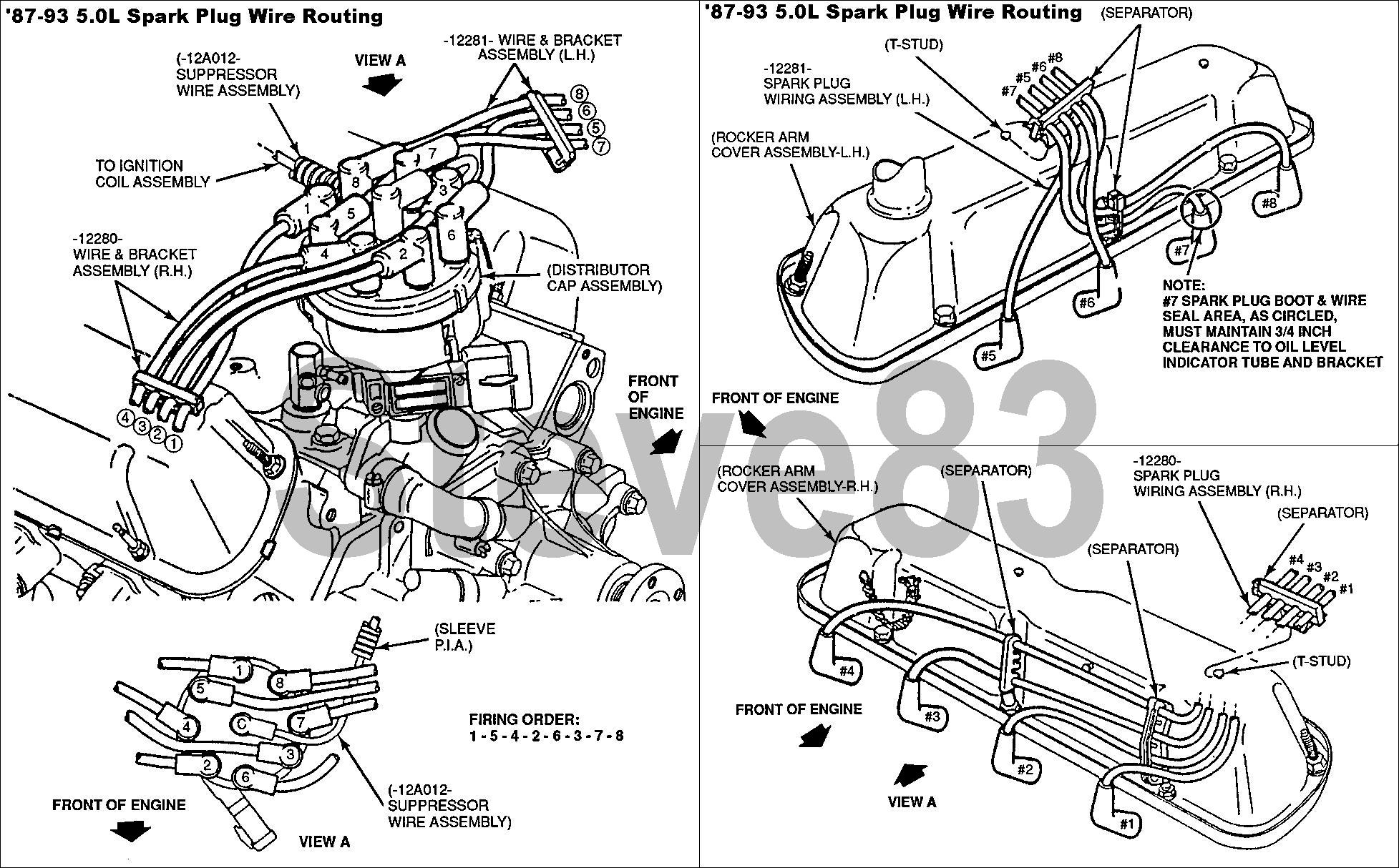 Ford 302 Spark Plug Wiring Diagram from www.supermotors.net
